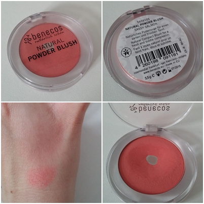 benecos Natural Powder Blush und Kajal