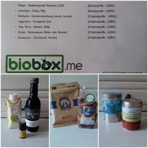 Biobox Food&Drink, Januar 2014