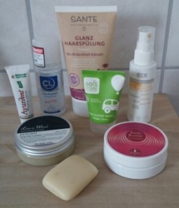 Mein Kosmetik- Täschchen zur Nordsee
