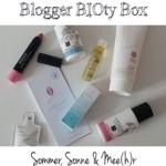 Blogger BIOty Box Nr. 1 – Vorstellung und Kurzreviews