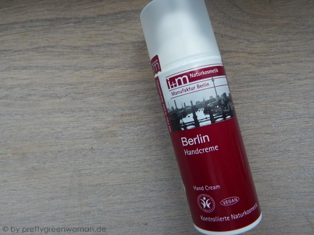 Aufgebraucht im Mai 2015: i+m Naturkosmetik Berlin Handcreme