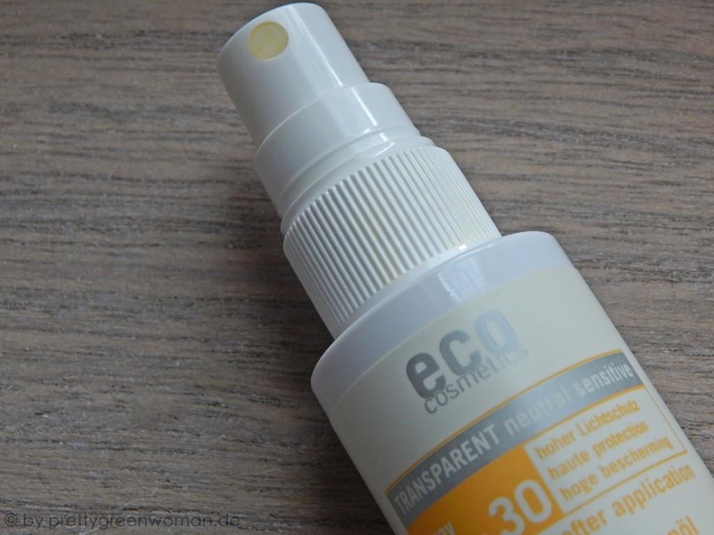 eco cosmetics Sonnenölspray LSF 30