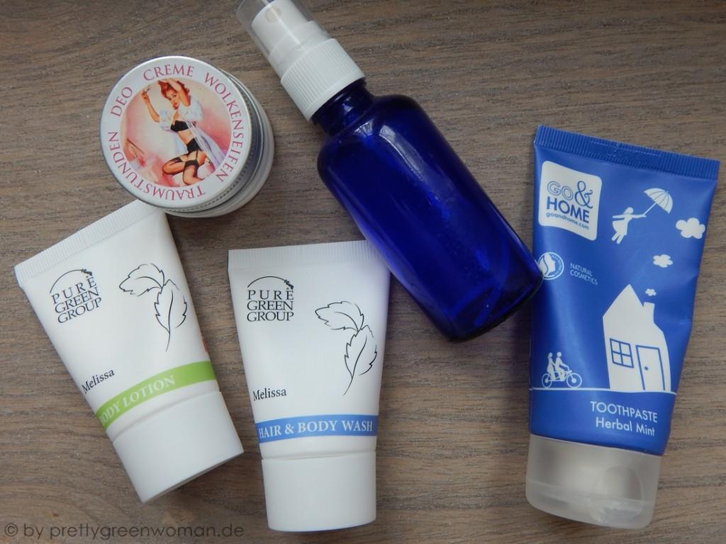 Mein Kosmetiktäschchen zum Lavera Showfloor in Berlin: Körperpflege
