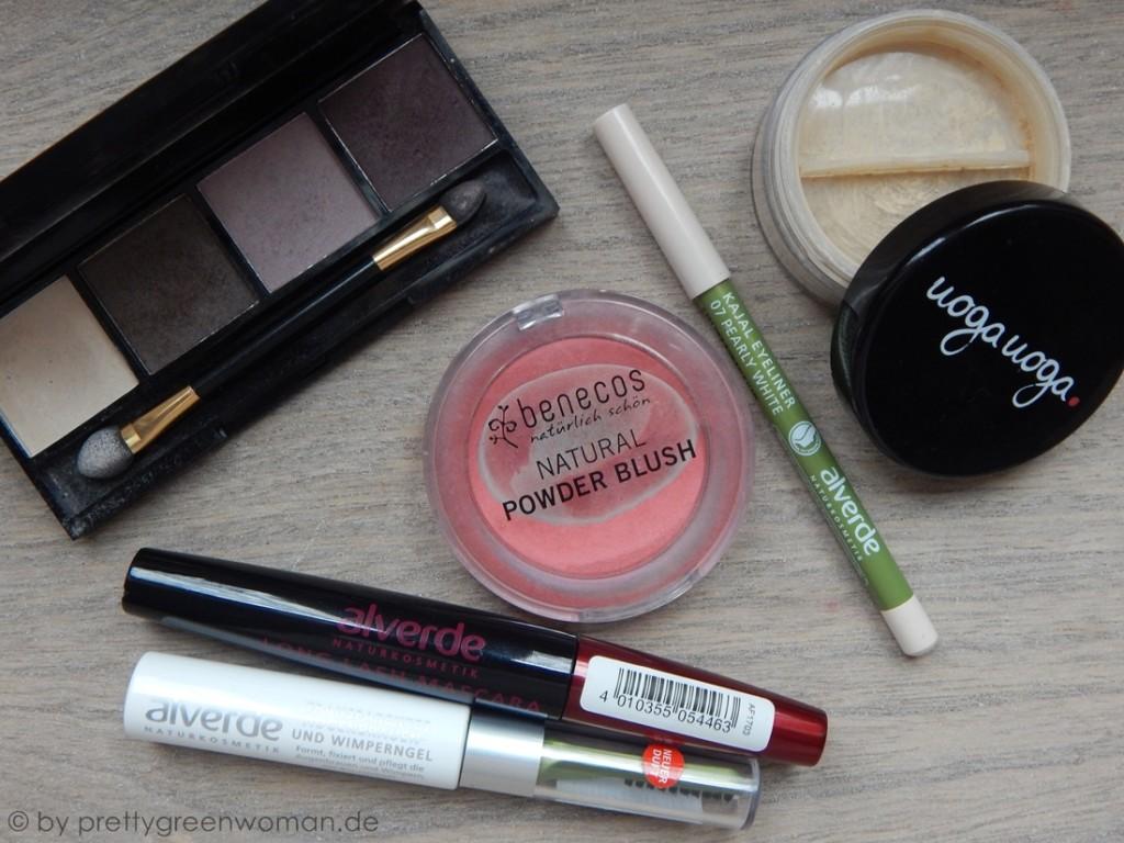 Mein Kosmetiktäschchen zum Lavera Showfloor in Berlin: Dekorative Kosmetik