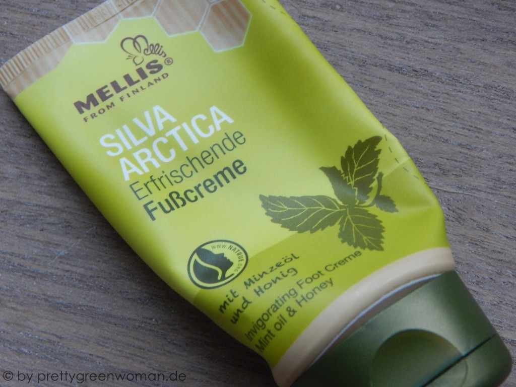 Aufgebraucht im September: Die Erfrischende Fußcreme von Mellis