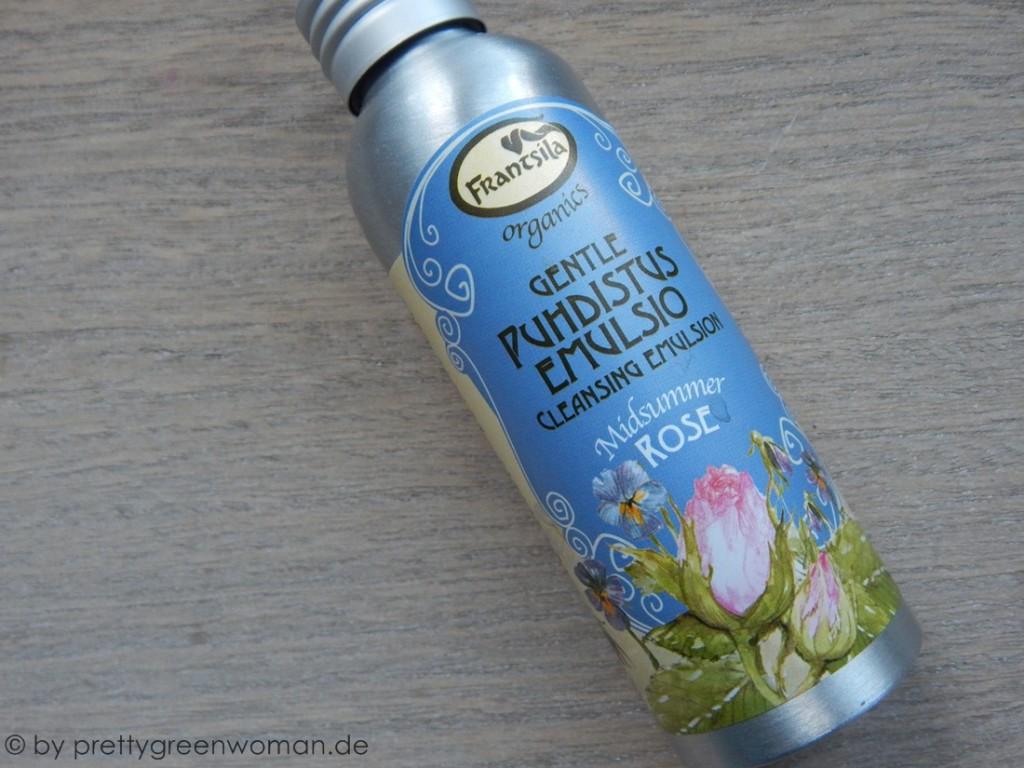 Aufgebraucht im November 2015: Die Gentle Cleansing Emulsion Midsummer Rose von Frantsila