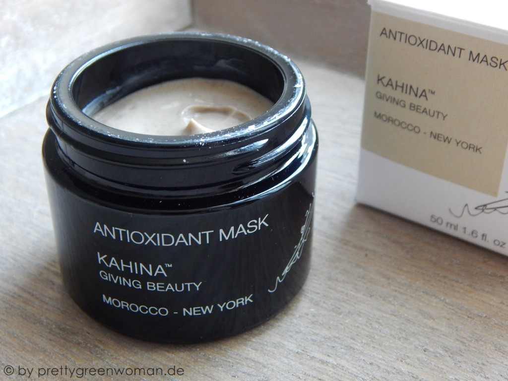 Die Antioxidant Mask von Kahina Giving Beauty