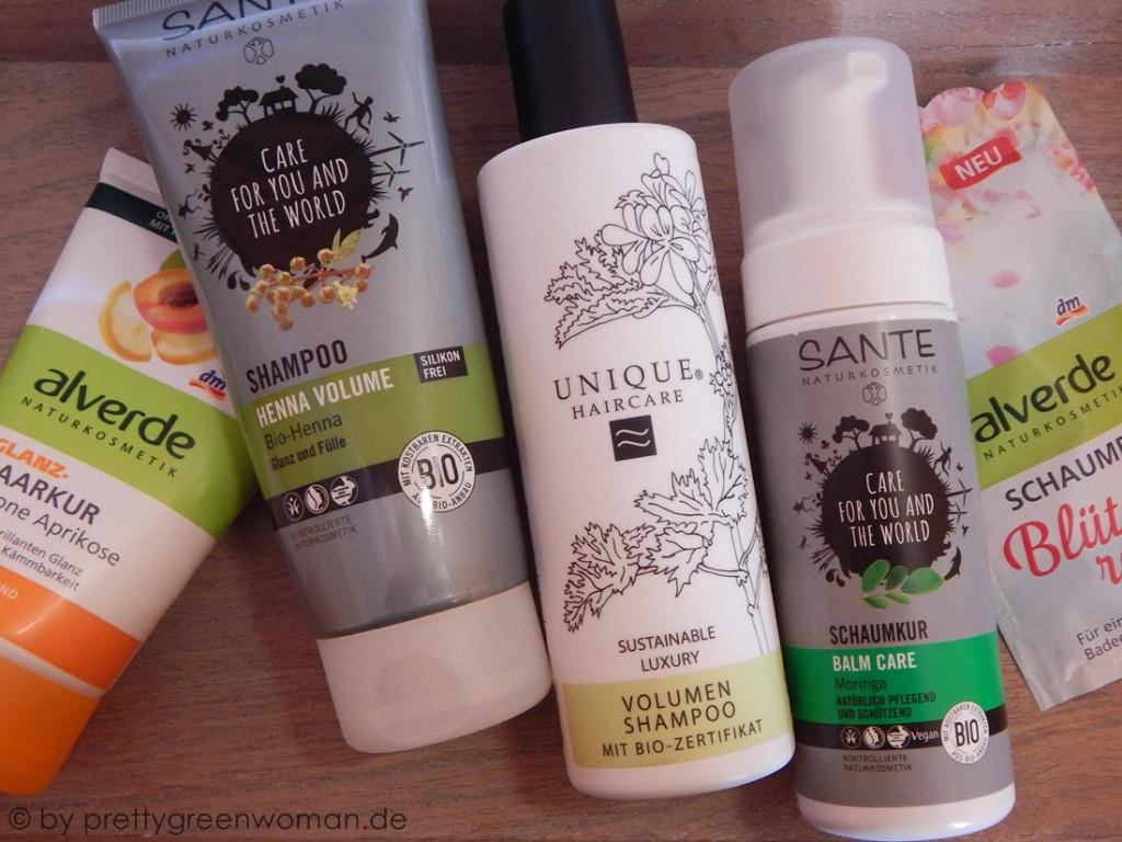 Blogger BIOty Box 3 - Geben und Nehmen: Haar- und Körperpflege