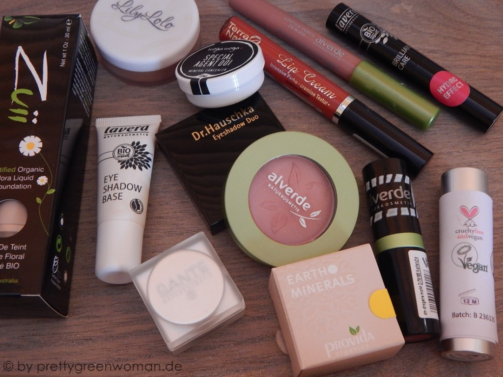 Blogger BIOty Box 3 - Geben und Nehmen: Dekorative Kosmetik