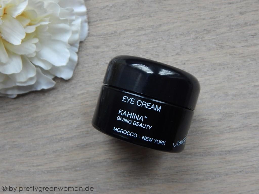 Aufgebraucht im März 2016: Die Eye Cream von Kahina