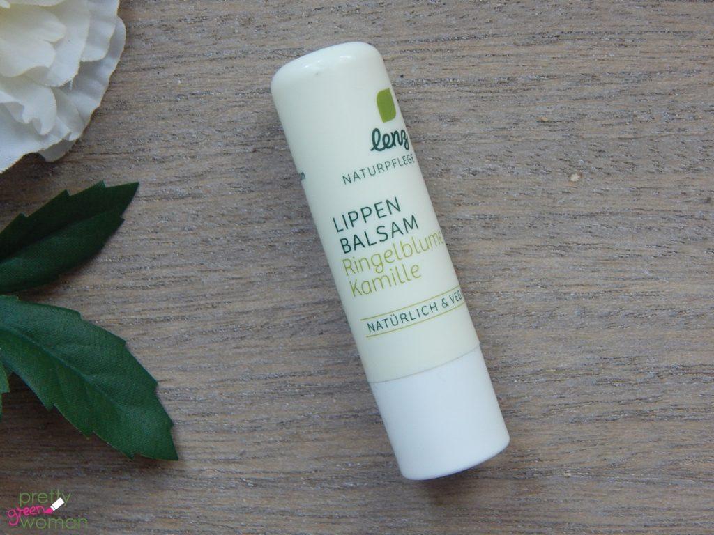Aufgebraucht im Juli 2016: lenz Naturpflege Lippenbalsam