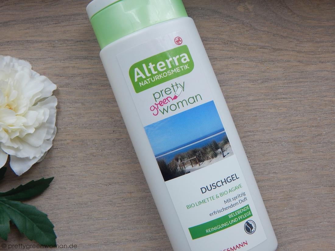 Alterra Naturkosmetik Duschgel Bio- Limette & Bio- Agave
