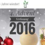 4. Advent Verlosung 2016: Die Naturdrogerie