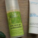 Sommer- Pflege: Aloe Vera Serum und Gel mit Santaverde und Farfalla