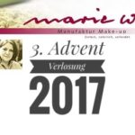 3. Advent Verlosung 2017: marie w.
